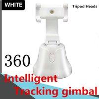 Nesne Takip Tutucu Tripod Başlıkları 360 ° Akıllı Takibi PTZ Akıllı yalpalama Bluetooth bağlantı izleme FacePanoramic izleme Kamera DHL