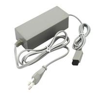Zasilacz 100-240 V Adapter AC dla Wii U Game Console Adaptery Power Ładowarka Ściana 20 sztuk / partia