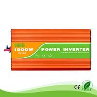1.5 kW / 1500W de 12/24 / 48V a 100/110/120/220/230/240 VAC 50 / 60Hz casa de alta frequência de utilização residencial onda sinusoidal pura fora do inversor grade