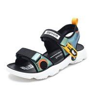 Children' s sandals PU leather sandals for boys casual k...