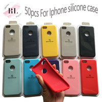 50PCS for iPhone 7 8 Plus X XS X Max XR 6 6S 6 plus silicone...
