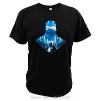 مورتال كومبات T قميص الفرعية صفر الطلائع القطن الطباعة الرقمية كواي يانغ Camisetas السينما التي شيرت رجال القطن المحملات