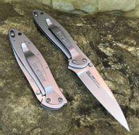 Gros Kershaw 1660 combat assisté couteau pliant Quick Open EDC couteau de poche A07 616 camping survie couteau de chasse avec boîte