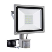 100W PIR Infrared Sensor de Movimento Flood Luz AC 220V-240V 10000LM PIR Sensor Infravermelho holofote lâmpada LED para iluminação exterior