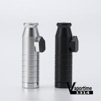 Snuff proiettile 2.3 pollici Matt Finish Contenere 3g proiettile tubo di alluminio del metallo Snuff Pippotto portatile colorato regalo DHL 142