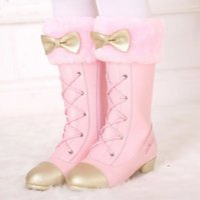 Zapatos de la princesa para las muchachas unisex niña niño que recorre Zapatos tenis de los niños lindos zapatos de lona preciosa otoño invierno niños calzado Aire libre Nueva Arr