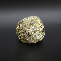 Nyaste 2019 myndighet Raptors Championship Ring Smycken Män Fans samla souvenirer MVP Leonard Lowry Finger Ring Partihandel Hög quanlity 24