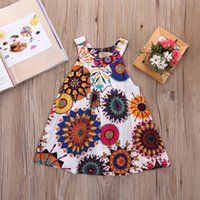 Hot Fashion Summer girls dresses 2 styles Cute Baby Girls Pa...
