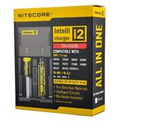 베스트 셀러 Nitecore I2 범용 충전기 1 Intellicharger 배터리 충전기에 16340/18650/14500/26650 배터리 미국 EU AU 영국 플러그 2