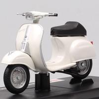 MAISTO 1/18 Escala Vintage Piaggio Vespa 50 Especial 1969 Scooter Motocicleta Diecast Veículo Motor Bicicleta Modelo de Brinquedo de Crianças Presente