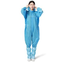 One- Piece Protective Suit Anti- Bacteria Protection Clothing ...
