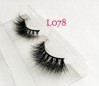 Lashes 3D Faux Mink Hair False Eyelashes Thick Long Wispy Fl...