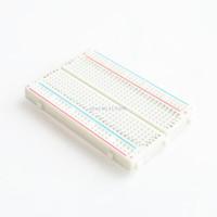 ! 20 adet Kaliteli mini ekmek tahtası / breadboard 8.5 CM x 5.5 CM 400 delik freeshipping