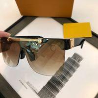 Seksi Kare Güneş Bayanlar Pilot Güneş Metal Kadınlar Erkekler Gözlüğü Gradient Güneş Gözlükleri One Piece Kadın Ayna Shades UV400
