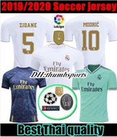 10 livre DHL! 2019 Maillot Real madrid Jersey Benzema ASENSIO futebol Modric Kroos Sergio Ramos Bale Marcelo 19 20 homem Real Madrid