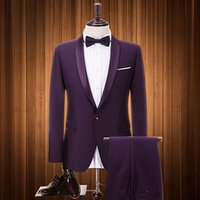 2019 Latest Designs Men Suit Custom Made Size Tuxedos Prom D...