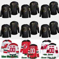 2019 Gold Black New Jersey Devils 3 Ken Daneyko 4 Scott Stevens 5 Connor Carrick 6 Andy Greene 13 Nico Hischier 8 Will Butcher Jerseys
