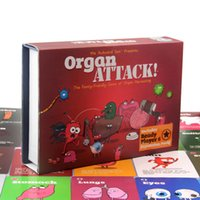 Wholesale Organ ATTACK! Cards Game Board Game the Family- Fri...