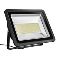 US Stock 300W New LED Flood Light 3000K Warm White IP65 Waterproof Instant On CE and ROHS Certified 110V Exterior LED Spotlights