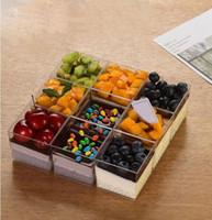 150мл Мусс пудинг мороженое желе десерт торт жесткий пластик PS одноразовые чашки квадратный удобный высокое качество