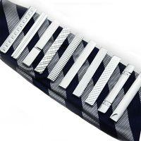 حزام الأخدود الماس القصير التعادل مقاطع الأعمال الدعاوى قميص ربطة العنق العلاقات قضبان الأزياء والمجوهرات للرجال وساندي هبوط السفينة 070004