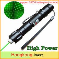 Совершенно новый 1mw 532nm 8000M высокой мощности зеленый лазерный указатель световая ручка лазерный луч военные зеленые лазеры