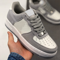 Le donne Mens SB Dunk 1 LOW '07 Alta Grigio Scarpe da corsa Scarpe Casual Dunk 2020 cheaps formatori Designer Athletic Sneakers Chaussures 36-45
