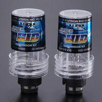 5000K 35W D2S Auto HID Brilliant Blue Xenon-Scheinwerfer-Licht-Lampen-Birnen - Black + White (ein Paar)