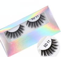 16 stili 5 d ciglia di visone naturale ciglia finte spesse visone ciglia fatti a mano ciglia finte trucco degli occhi strumenti GGA2183