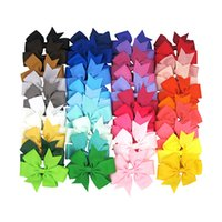 Multicolors Choose Cute color Hair Bows Hair Pin for Baby Ki...