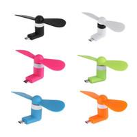 Mini Serin Mikro USB Fan Cep Telefonu USB Gadget Hayranları Tester Android Taşınabilir Serin Renkli