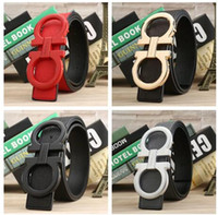 2018 Men' s Belts Pin buckle genuine leather belts for m...