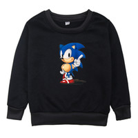 Sonic The Hedgehog Boys Girls Clothes Cartoon Children Winte...