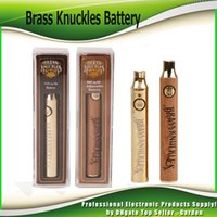 Brass Knuckles Battery 650mAh Gold 900mAh Wood Adjustable Va...