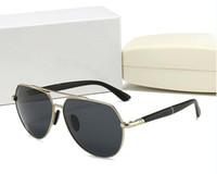 Hot 2020 nuovo top di lusso qualtiy nuovo modo 806.632 Tom Occhiali da sole per uomo donna Erika Eyewear guado Designer Brand Occhiali da sole con box