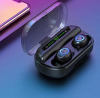 V10 TWS Bluetooth наушники беспроводные гарнитуры наушники светодиодный экран против F9 бутонов для всех смарт-телефон Samsung горячей продаж