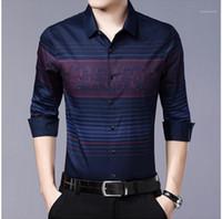 Деловые Рубашки Пледы Дизайнер Осень Весна Рубашки С Длинными Рукавами Отец Мужчины Hombres