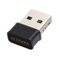 USB Mini 1200 MB / s Wireless-LAN-Adapter Dualband 5 GHz 2,4 GHz 802.11ac Netzwerk-Adapter Wifi Antenne AC Schlüssel Laptop Adapter Desktop