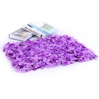 DIY Design Arch Cafe Shop Fond Décoration Bouquet Party Favor Hortensia Tapis Route De Mariage Réglage Photo Props Mur