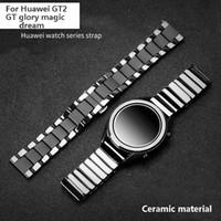 Huawei GT2 GT 스트랩 영광을위한 시계 밴드 도자기 시계 밴드 Glory Magic Dream Watch2 Pro Ceramic Smart Sports Bracelet 20 / 22m