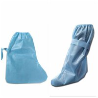 Disposable Shoe Cover Non Woven Protective Overalls Anti Dus...