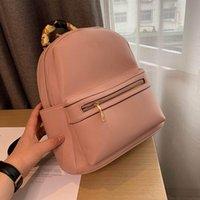 New Pop Candy Красочные BACKPACK BAG Рюкзак Сумки натуральной кожи сумка женщин плечо сумка дорожная сумка