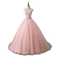 Newest Red Sweet 16 Pink Ball Gown Quinceanera Dresses 2019 ...