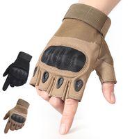 Nuovi guanti tattici sportivi sportivi multicolori sport alpinismo equitazione formazione antiscivolo uomo e donna mezzo dito spedizione gratuita