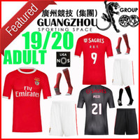 adult kit 19 20 benfica soccer jerseys home away 2019 2020 R...