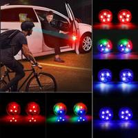 3/5 LED сигнальные огни открытия двери автомобиля беспроводной магнитный дизайн стробоскоп мигает анти-задние аварийные лампы столкновения