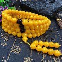 Янтарный пчелиный воск второго поколения 8MM108 Куриное масло Huangmi