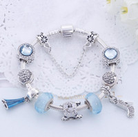 Wholesale- 925 Silver Pandora Bracelets For Women Royal Crown...