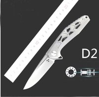 2020 God carving ball bearing pocket folding knife D2 blade ...