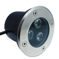 Fanlive 10PC LED подземный светильник напольная лампа IP67 водонепроницаемый 3W 85-265V светодиодный на открытом воздухе наземный путь напольный двор лампы садовое освещение